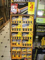 Full range of batteries