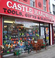 castle hardware shop front