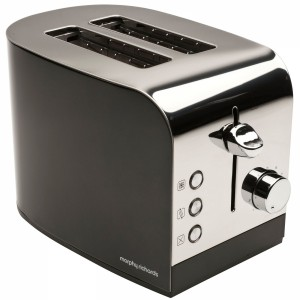 Morphy Richards 2 Slice Toaster Black