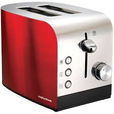 Morphy Richards 2 Slice Toaster Red