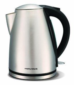 Morphy Richards Brushed Steel Kettle