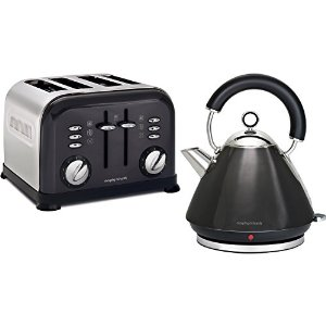 Morphy Richards Kettle and Toaster Black