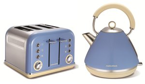 Morphy Richards Kettle and Toaster Cornflower