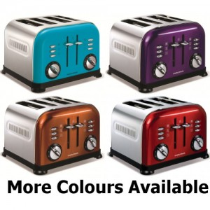 Range of Morphy Richards 4 Slice Toasters