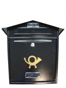 French Horn Post Box