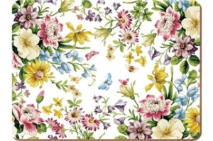 Katie Alice English Garden Placemat and Coasters