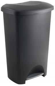 D71744 517262 50L Pedal bin black
