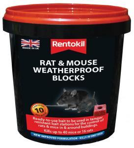 D78290 PSMR42 Mouse  Rat Weatherproof Blocks x10