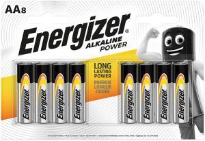 Energizer Alkaline AA x 8 7638900410686