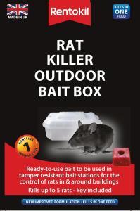 RAT KILLER BOX - Rat Killer Outdoor Bait Box - PCS updated