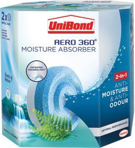 UniBond Aero 360 Waterfall Freshness Refills
